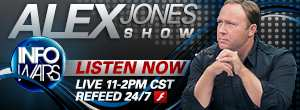 Alex Jones Show Podcast and Live Stream